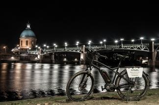 Vélo Électrique de nuit
