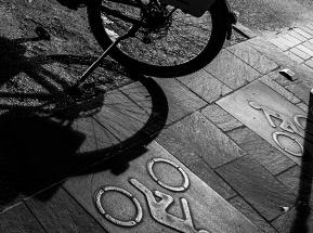 E-Bike by night