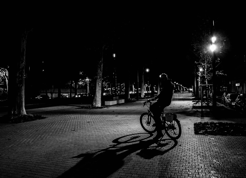 Toulouse à Vélo Électrique de nuit