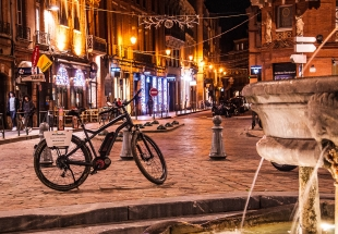 Visit of Toulouse with an E-Bike