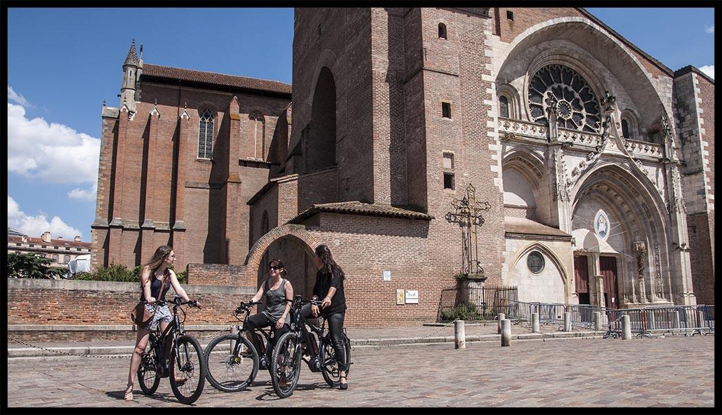 Visite de Toulouse en Vélo Électrique
