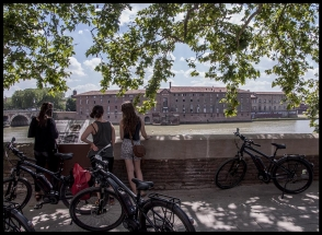 Balade à Vélo Électrique à Toulouse