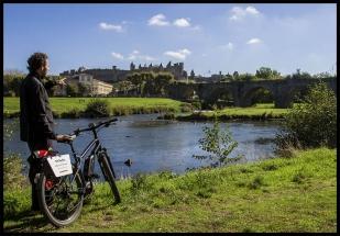 Berge de l'Aude à Vélo Électrique