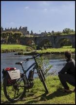 Balade à Vélo Électrique à Carcassonne