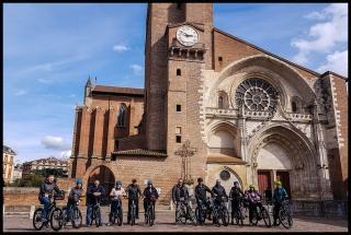 Visite de Toulouse à vélo